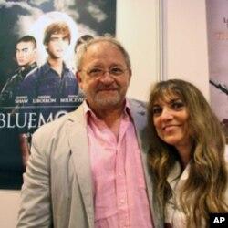 製片人施特羅與妻子參與香港影視展