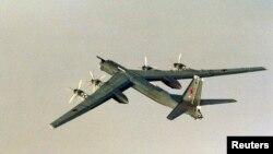 俄羅斯圖-95轟炸機。(資料照)