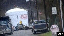 Одно из предприятий корпорации DuPont в городе Мармет в Западной Вирджинии (архивное фото)