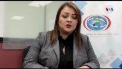 Raquel Vargas encargada de la Dirección de Migración