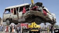 阿富汗通常為伊斯蘭激進分子襲擊(資料照片)