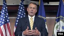 Ketua DPR AS John Boehner dilaporkan mempersiapkan proposal terpisah bagi penyelesaian kemacetan soal pagu utang.