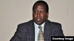 Charles Nditije wo mu mugambwe Uprona, uruhande rutavuga rumwe na Reta,