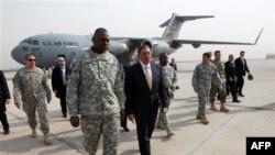 Міністр оборони США Леон Панетта в Іраку