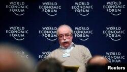 Kepala perusahaan energi raksasa Perancis, Total, Christophe de Margerie dalam Forum Ekonomi Dunia di Davos, Swiss (Foto: dok).