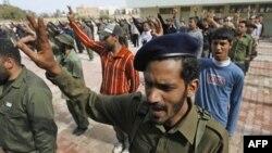 Новобранцы ливийской армии