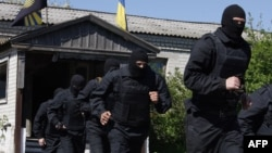 """Архів. Батальйон """"Донбас"""" проходить навчання на кордоні між Дніпропетровською та Донецькою областями."""