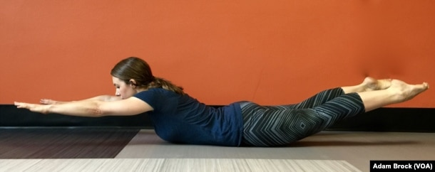 The Superman strengthens your lower back.