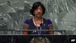 Menurut Komisaris Tinggi PBB untuk HAM, Navi Pillay, kejahatan perang dan kejahatan terhadap kemanusiaan di Suriah telah dan masih terus dilakukan, dan harus diselidiki (foto: dok).