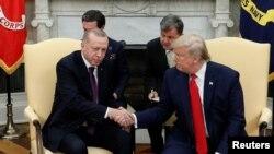Cumhurbaşkanı Recep Tayyip Erdoğan ve Amerika Başkanı Donald Trump, Beyaz Saray'da geçen hafta S-400 konusunu masaya yatırdılar.