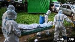 Covid Victim at Hlae Gu Township