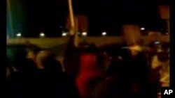 Manifestations anti-gouvernementales en Libye