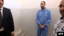 Saadi Kadhafi, à la prison d'Al-Hadba, à Tripoli, le 10 août 2015.