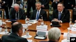 Pompeoning Lavrov bilan uchrashuvi paytida