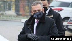 Osman Mehmedagić dolazi na ročište u Sud BiH. Foto: BIRN BIH