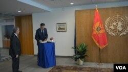 Crnogorski predsednik Filip Vujanović sa GS UN Antoniom Guterešom