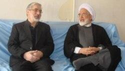 میرحسین موسوی، مهدی کروبی و زهرا رهنورد از رهبران اعتراض مردمی پس از انتخابات ریاست جمهوری سال ۱۳۸۸، در حصر خانگی و بازداشت هستند.