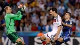 """Thủ môn Đức Manuel Neuer nói """"Thật không thể tin được và đúng là một trải nghiệm tuyệt vời."""""""