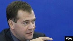 Presiden Rusia Dmitry Medvedev (foto: dok) sedang mengunjungi India selama dua hari.