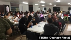 A meeting of the Tribal Education Department National Assembly (TEDNA).