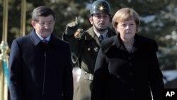 صدراعظم آلمان امروز با صدراعظم و شماری از مقامات ترکیه دیدار کرد