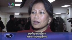 Enemies' Gathers Audience at Maryland Temple (Cambodia news in Khmer)