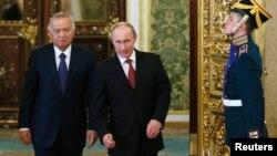 Rossiya va O'zbekiston rahbarlari, 15-aprel, 2013, Moskva