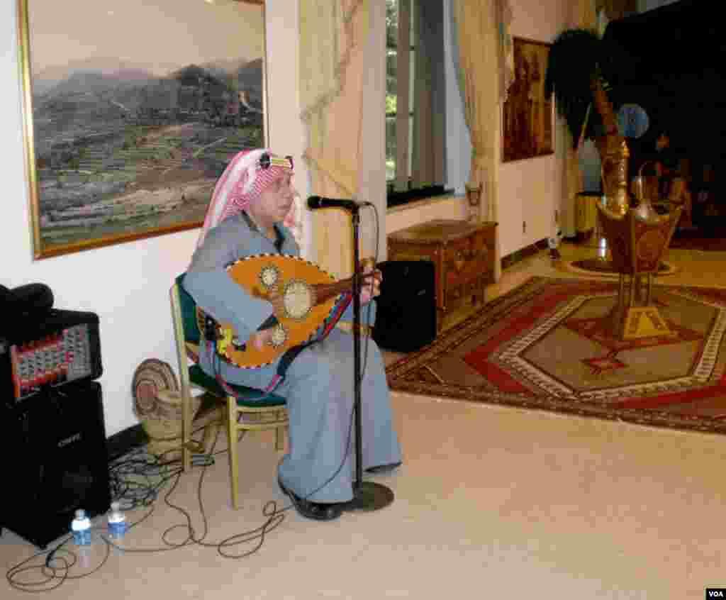 Muzika u ambasadi Saudijske Arabije