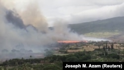 Požar na ostrvu Maui