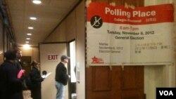 组图:总统大选投票日现场抓拍(1)