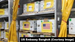 The United States has just donated 1.5 million doses of Pfizer's COVID-19 vaccine to Thailand