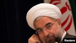 Le président iranien Hassan Rouhani