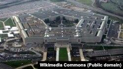 2008年1月从飞机上俯拍的五角大楼是美国国防部总部。(照片来源:维基百科)