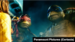 'Teenage Mutant Ninja Turtles' produksi Paramount Pictures.