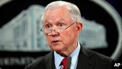 Jaksa Agung AS, Jeff Sessions dimintai keterangan oleh kantor Penyidik Khusus Robert Mueller (foto: dok).