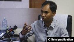 Myanmar Now အယ္ဒီတာခ်ဳပ္ ကုိေဆြ၀င္း (မတ္လ ၂၀၁၇)