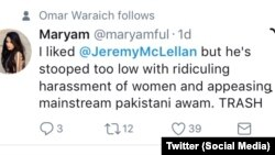 maryam tweet