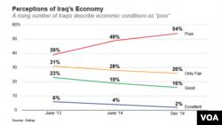 Perceptions of Iraq's Economy