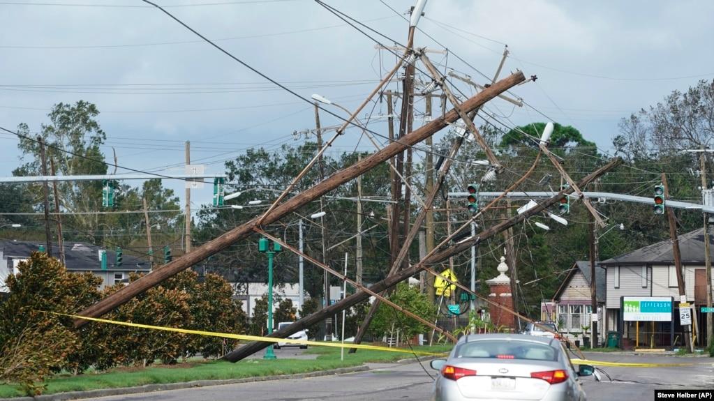 Uragani Ida lë miliona njerëz pa energji në Luiziana