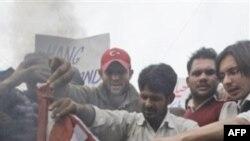 Архив: антиамериканская демонстрация в Пакистане
