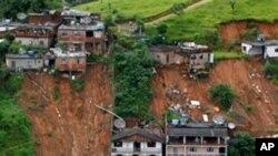 610 οι νεκροί απ' τις πλημμύρες στην Βραζιλία
