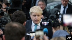 လန္ဒန္ၿမိဳ႕ေတာ္ဝန္ Boris Johnson