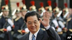 Ο κινέζος Πρόεδρος Χου Ζιντάο