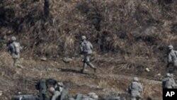 미-한 합동 군사훈련 (자료사진)