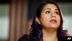 Astrid Silva se ha convertido en una activista por los derechos de los inmigrantes indocumentados y ha visitado el Congreso varias veces en apoyo a los jóvenes soñadores como ella.
