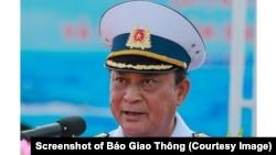 Cựu Thứ trưởng Quốc phòng Việt Nam Nguyễn Văn Hiến. (Screenshot of Báo Giao Thông)
