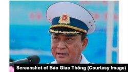 Ông Nguyễn Văn Hiến thời điểm còn tại chức. (Screenshot of Báo Giao Thông)
