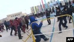 Беспорядки в Жанаозене (архивное фото)