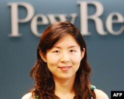 参与调查的皮尤研究中心研究员王榕(Wendy Wang)