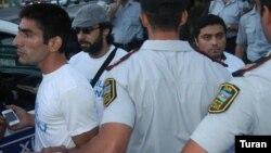 Musavat Partiyasi aksiya keçirib